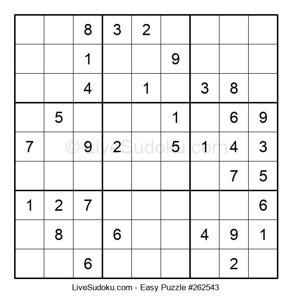 Beginners Puzzle #262543