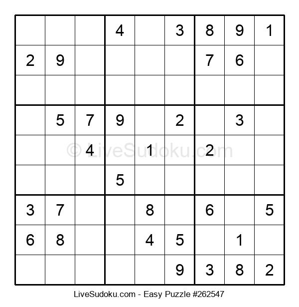 Beginners Puzzle #262547