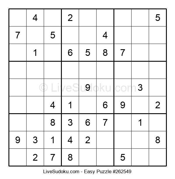 Beginners Puzzle #262549