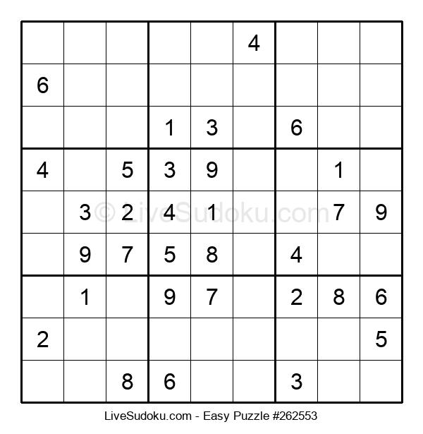 Beginners Puzzle #262553