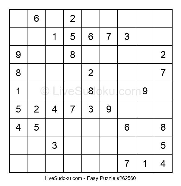 Beginners Puzzle #262560