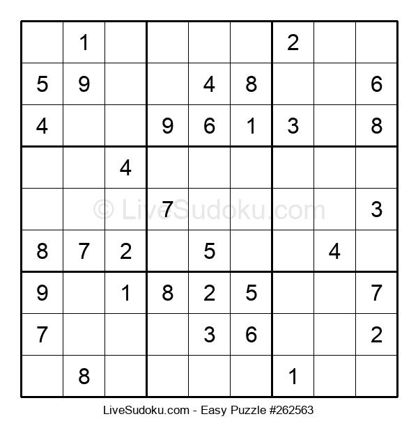 Beginners Puzzle #262563