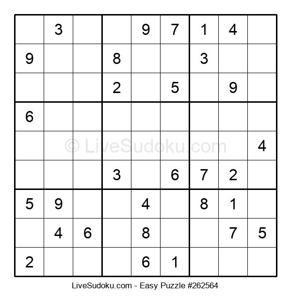 Beginners Puzzle #262564