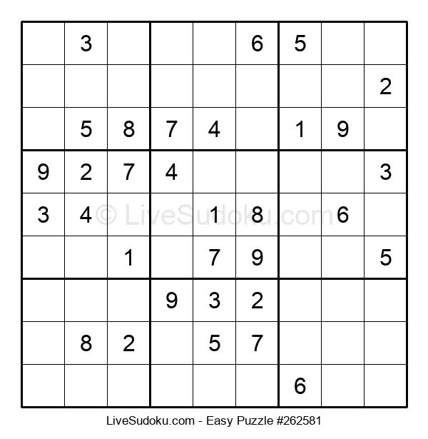 Beginners Puzzle #262581