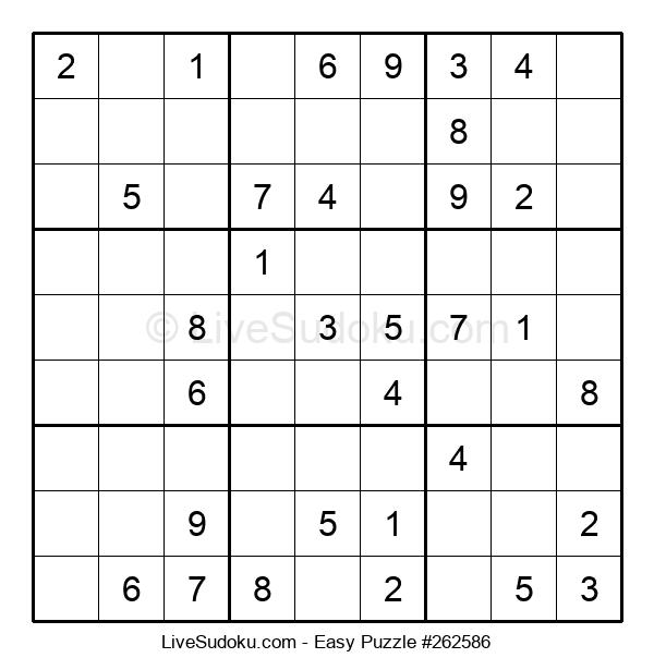 Beginners Puzzle #262586