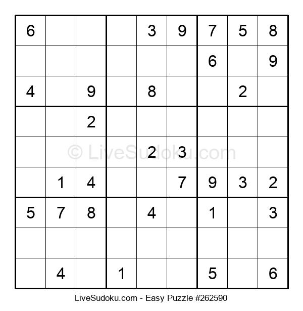 Beginners Puzzle #262590