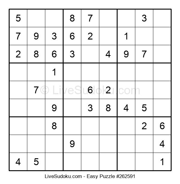 Beginners Puzzle #262591