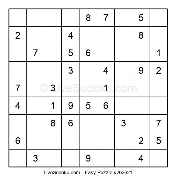Beginners Puzzle #262621