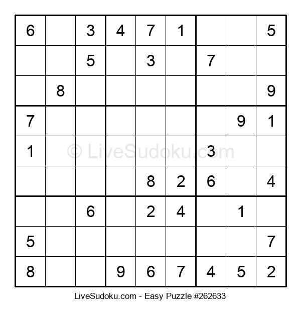 Beginners Puzzle #262633
