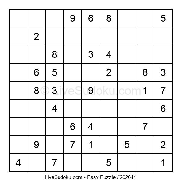 Beginners Puzzle #262641