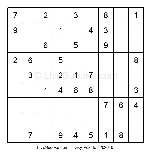 Beginners Puzzle #262646