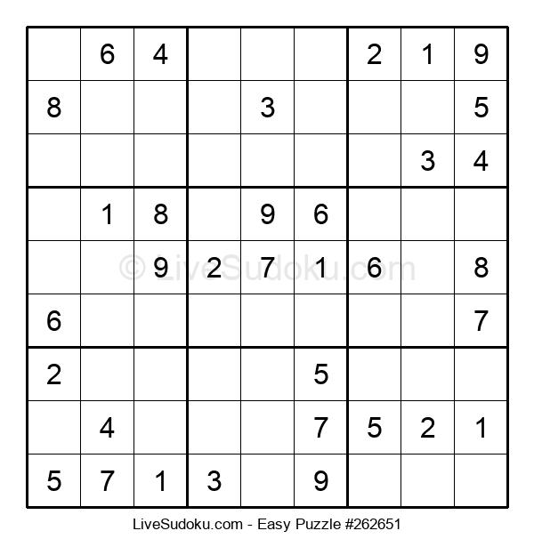 Beginners Puzzle #262651