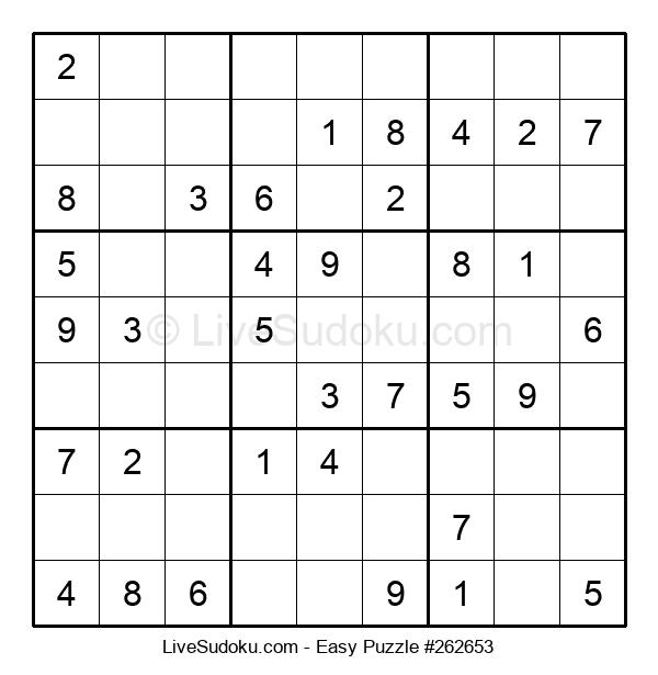 Beginners Puzzle #262653