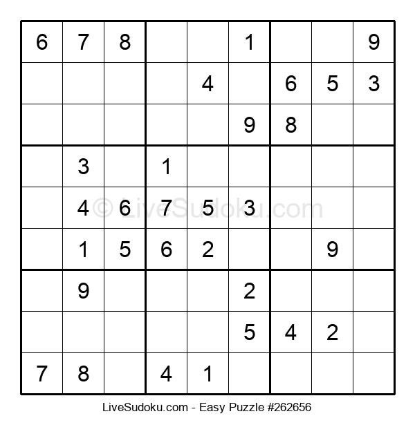 Beginners Puzzle #262656