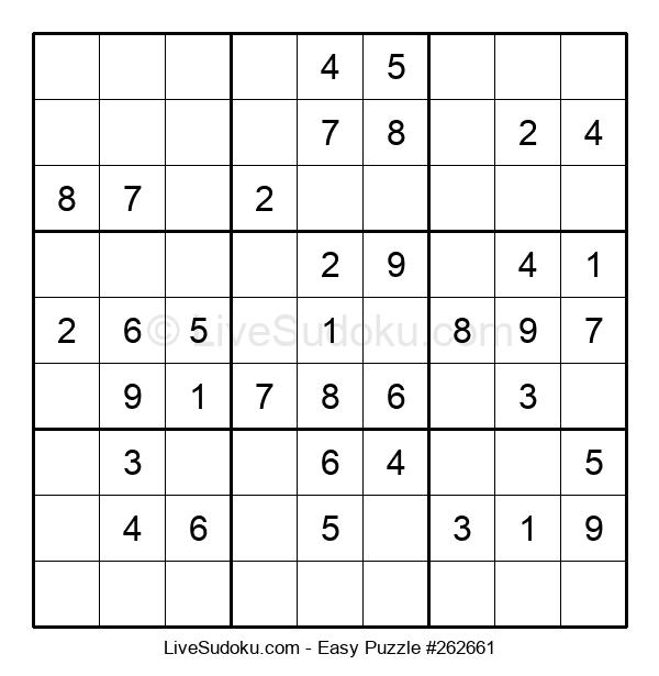Beginners Puzzle #262661