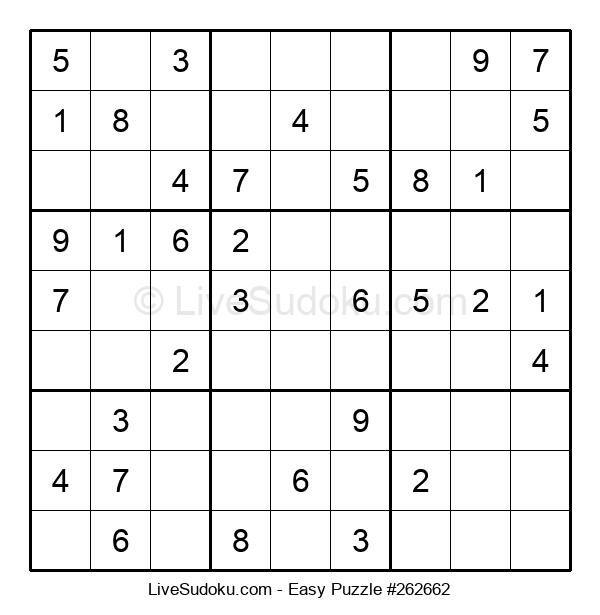 Beginners Puzzle #262662
