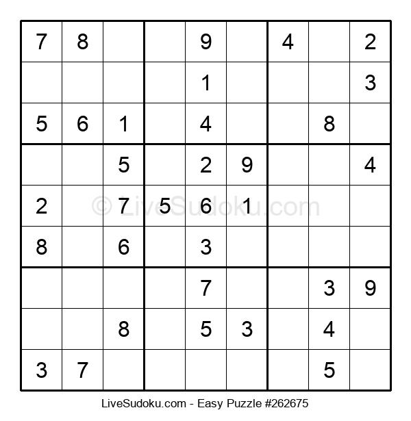 Beginners Puzzle #262675