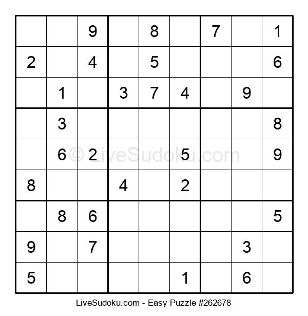 Beginners Puzzle #262678