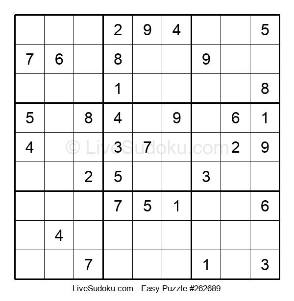 Beginners Puzzle #262689