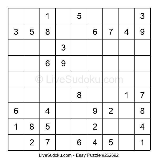 Beginners Puzzle #262692