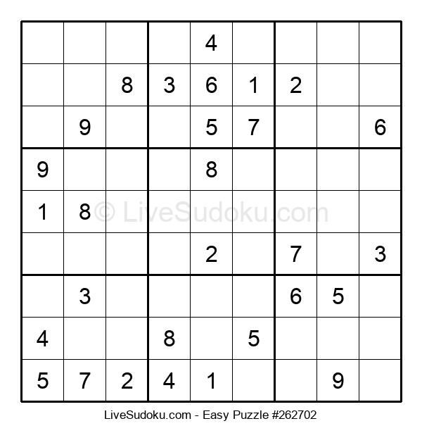 Beginners Puzzle #262702