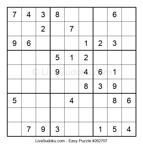 Beginners Puzzle #262707