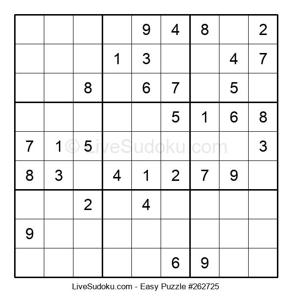 Beginners Puzzle #262725