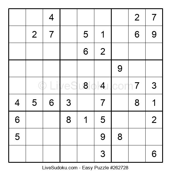 Beginners Puzzle #262728