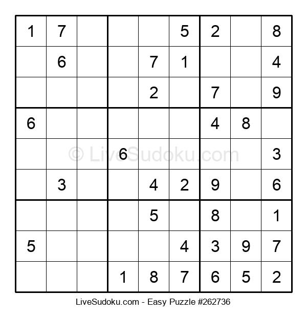 Beginners Puzzle #262736