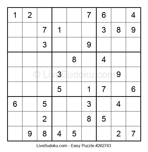 Beginners Puzzle #262743
