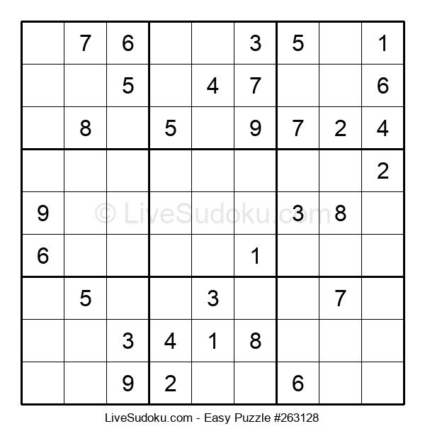 Beginners Puzzle #263128