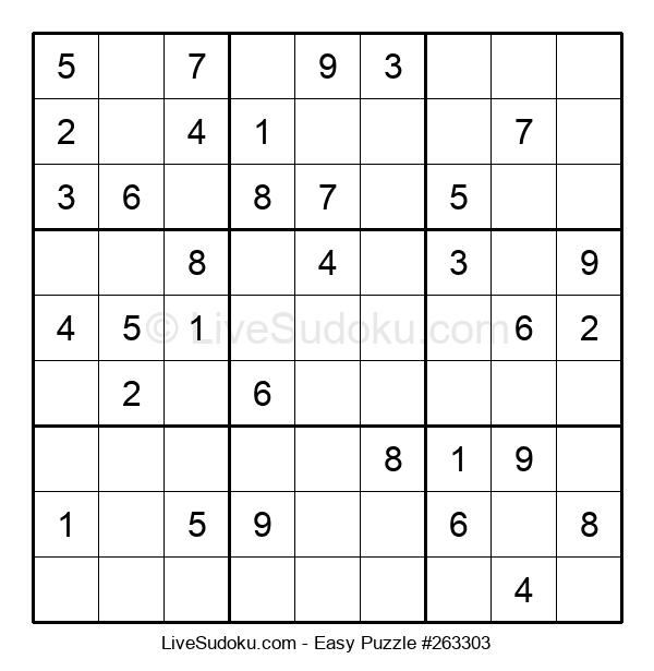 Beginners Puzzle #263303