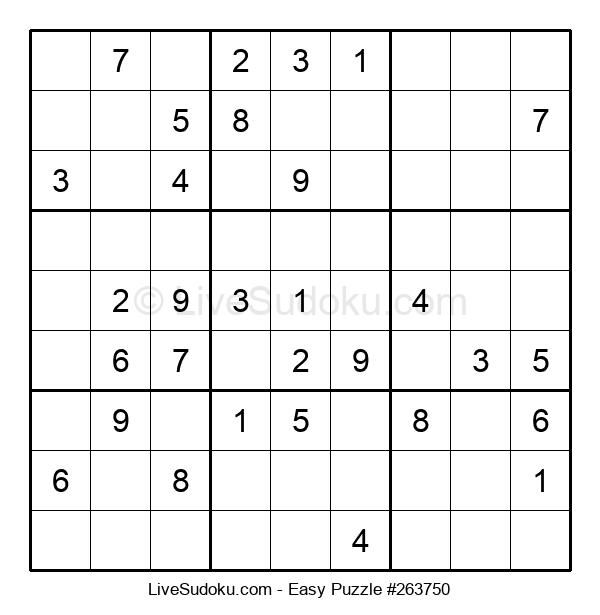 Beginners Puzzle #263750