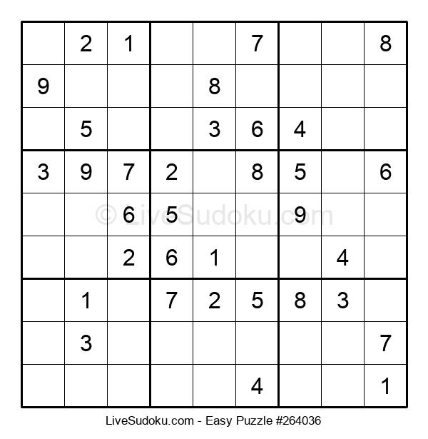 Beginners Puzzle #264036