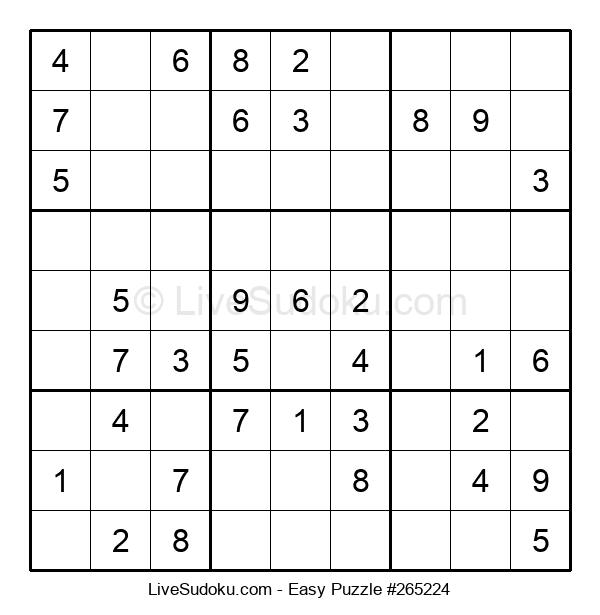 Beginners Puzzle #265224