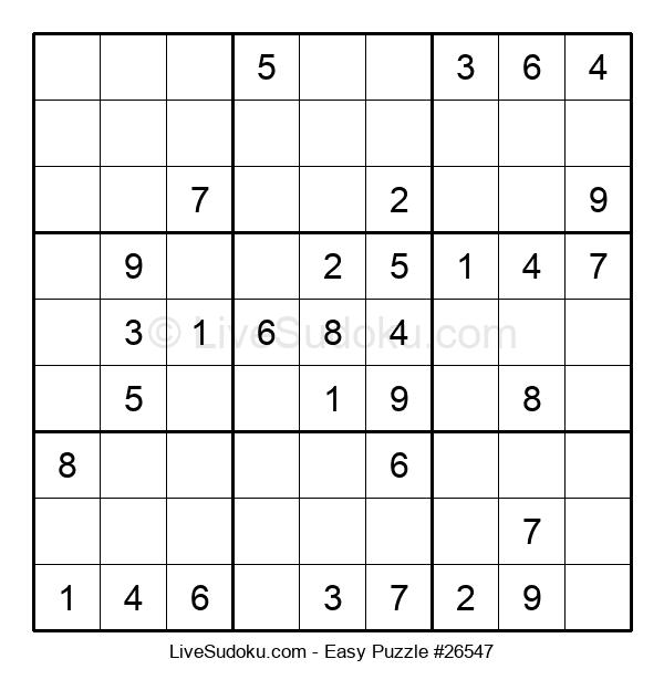 Beginners Puzzle #26547