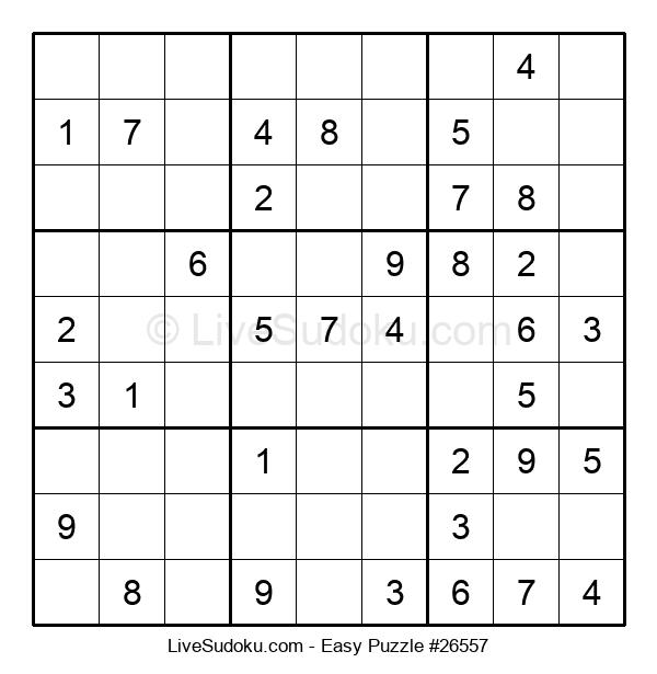 Beginners Puzzle #26557