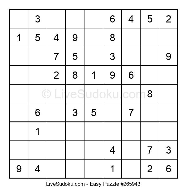 Beginners Puzzle #265943