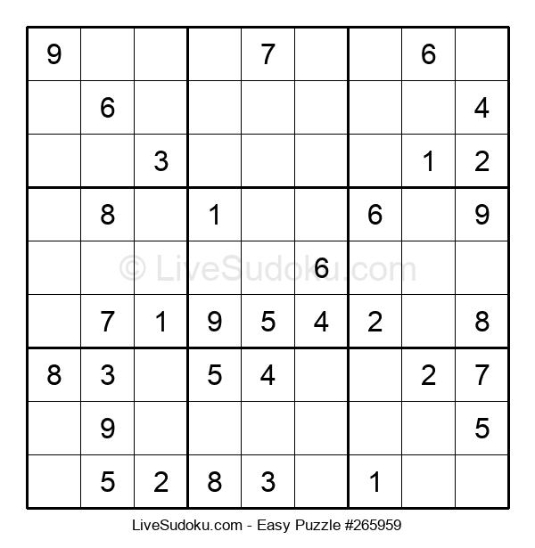 Beginners Puzzle #265959