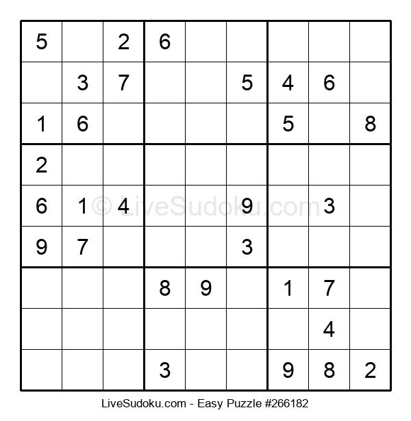 Beginners Puzzle #266182