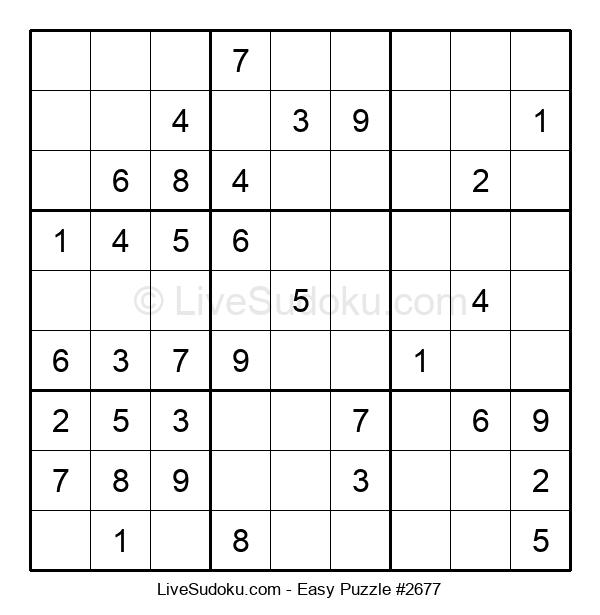 Beginners Puzzle #2677