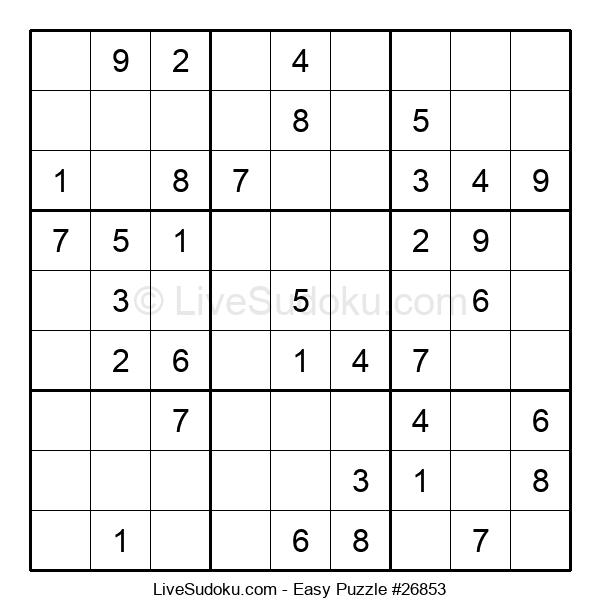 Beginners Puzzle #26853