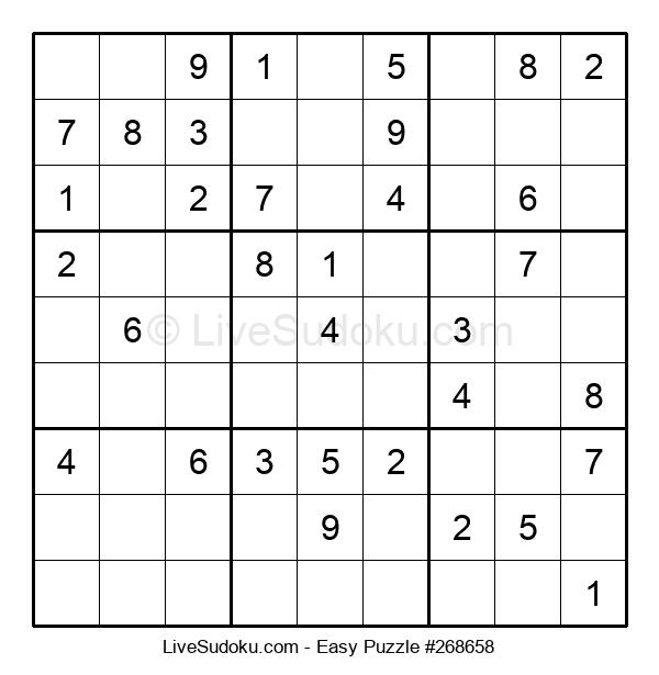 Beginners Puzzle #268658