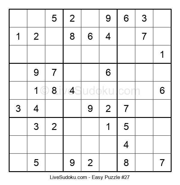 Beginners Puzzle #27
