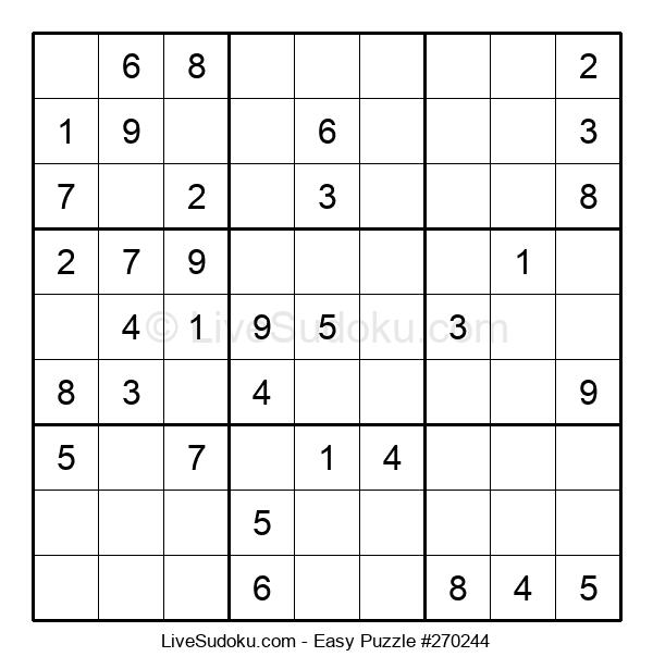 Beginners Puzzle #270244