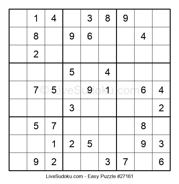 Beginners Puzzle #27161