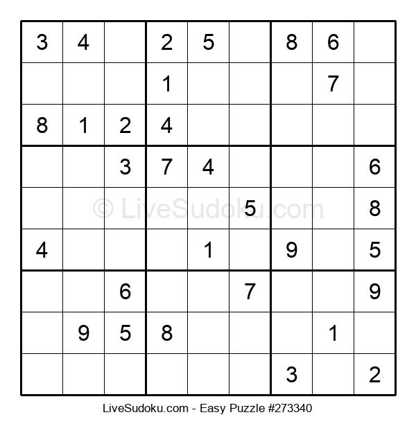 Beginners Puzzle #273340