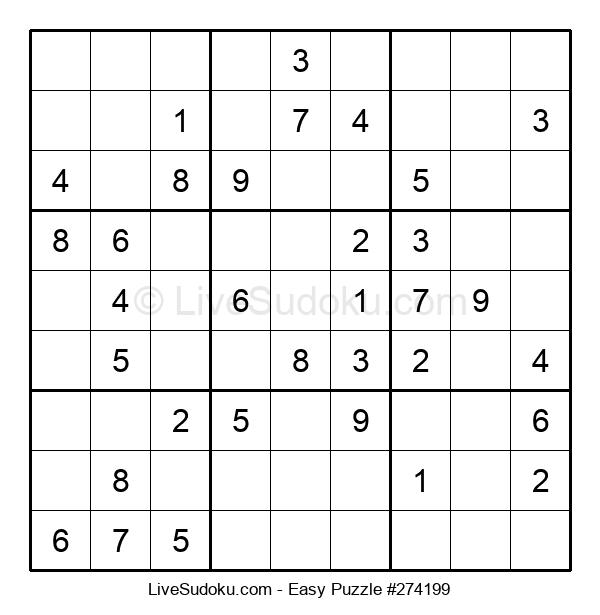 Beginners Puzzle #274199