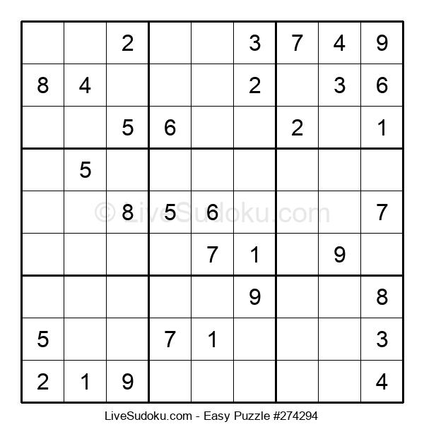 Beginners Puzzle #274294