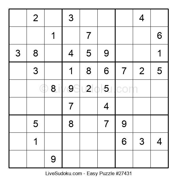 Beginners Puzzle #27431